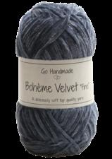 Bohème Velvet Fine 17612 Blue