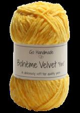 Bohème Velvet Fine 17615 Giraffe Yellow