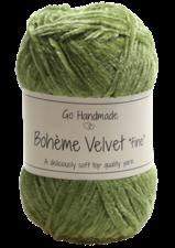 Bohème Velvet Fine 17616 Peridot Green