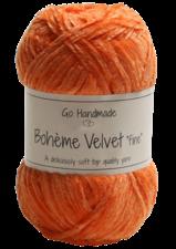Bohème Velvet Fine 17618 Warm Orange