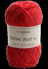Bohème Velvet Fine 17619 Warm Red