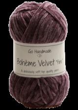 Bohème Velvet Fine 17680 Dark Lavender