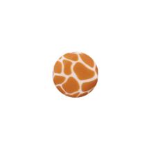 Siliconen kraal 12mm giraf