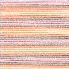 Cotton Soft Print Rico roze/olijf 030