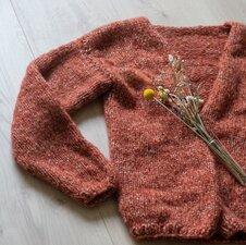 Breipakket vest Bernadette Brushed silk
