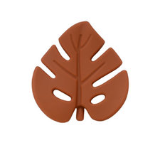 Siliconen blad donker roestbruin