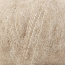Drops Alpaca Silk brushed lichtbeige 004