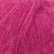 Drops Alpaca Silk brushed cerise 018