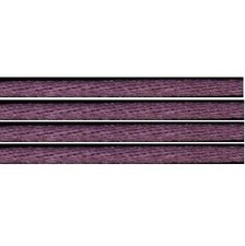 Kumihimo satijnkoord 3mm, kleur oud paars