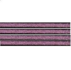 Kumihimo satijnkoord 3mm, kleur oud roze
