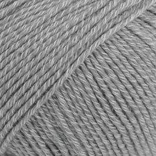Drops Cotton Merino medium grijs 18