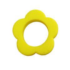 Bloemen bijtring geel