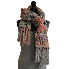 Patroon sjaal 4 bollen Creative Melange DK Rico