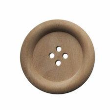 Houten knoop blank 3,5cm