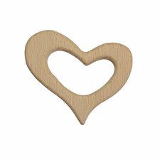 Bijtring hout hart