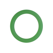 Siliconen ring 3 cm groen