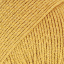 Drops Cotton Merino mosterdgeel 15