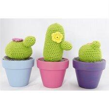 Haakpatroon kleine cactussen