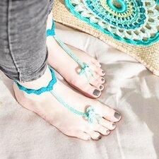 Patroon gehaakte barefoots sandalen Haken&sfeer