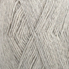 Drops Alpaca zeer licht grijs 9020