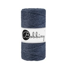 Bobbiny Macrame 3mm charcoal
