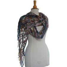 Haakpakket sjaal Mille Colori