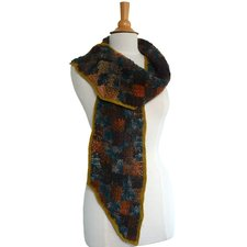 Haakpakket sjaal Mille Colori patchwork