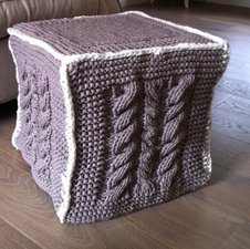 Workshop hocker breien