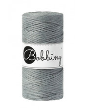 Bobbiny Macrame 3mm steel