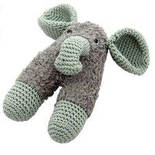 Haakpakket rammelaar olifant