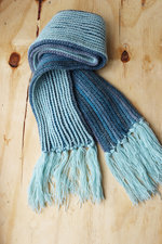 Haakpakket sjaal melange DK en Amore