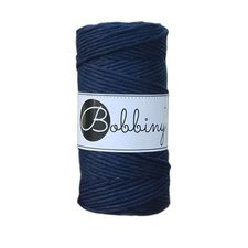 Bobbiny Macrame 3mm navy blue