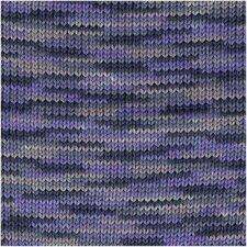 Creative cotton print lila/bruin 038
