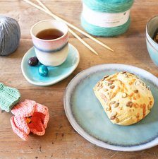 Paasbrunch en yarn tasting