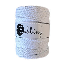 Bobbiny Triple Twist 5mm white