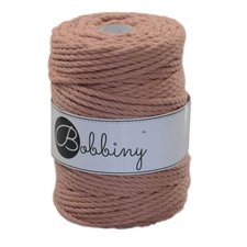 Bobbiny Triple Twist 5mm blush