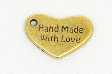 Bedel Handmade with love brons