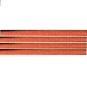 Kumihimo satijnkoord 3mm, kleur oranje