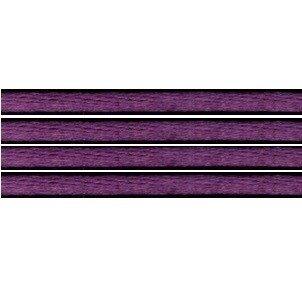 Kumihimo satijnkoord 3mm, kleur paars