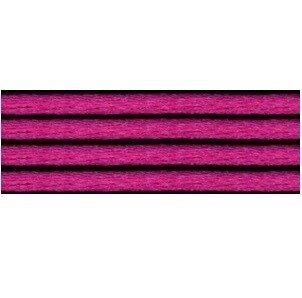 Kumihimo satijnkoord 3mm, kleur fuchsia