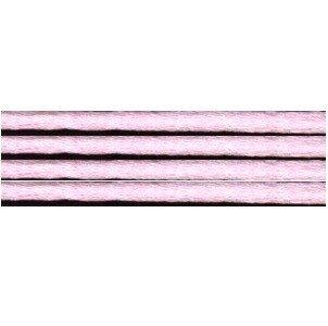 Kumihimo satijnkoord 3mm, kleur licht roze