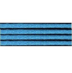 Kumihimo satijnkoord 3mm, kleur turquoise
