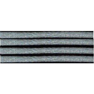 Kumihimo satijnkoord 3mm, kleur blauwgrijs
