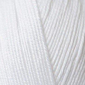 Essentials Cottton DK white 80