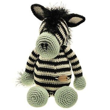 Haakpakket zebra Seb
