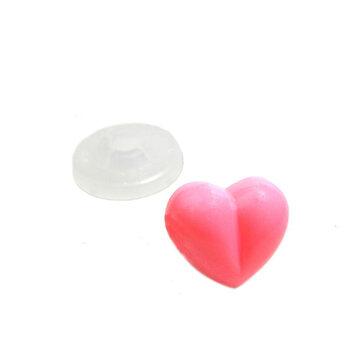 Veiligheidsneusjes hartje roze 4 stuks