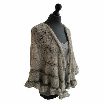 Omslagdoek Limited by met Brushed Alpaca Silk