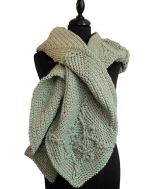Patroon sjaal/hoodie 10 bollen Fashion Highland Chunky Rico