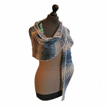 Patroon sjaal Merino Extra Fine Lace