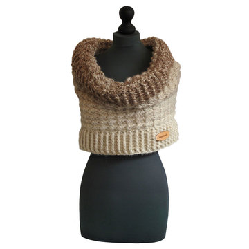 Haakpakket Schouderwarmer Brushed Alpaca Silk/Colour Crafter